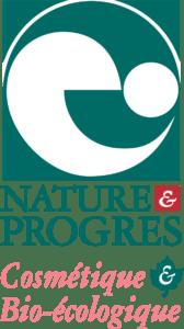 logo nature et progrès cosmétiques bio-écologique