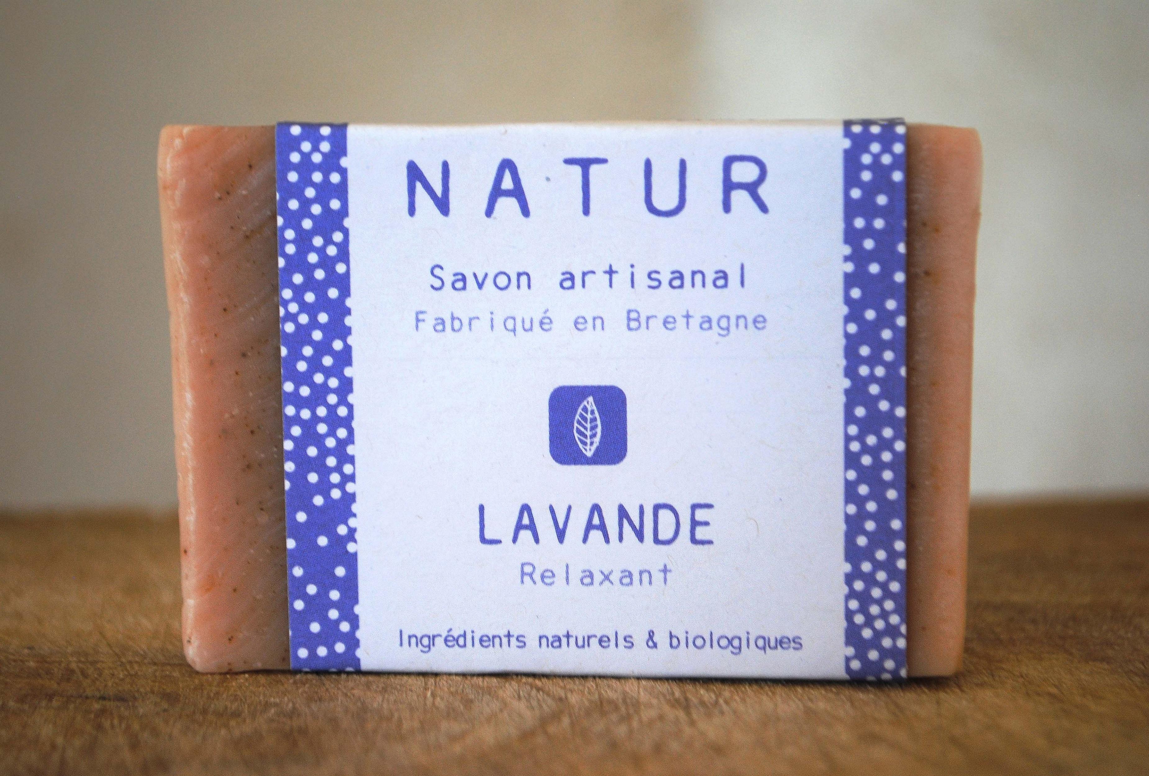 savon à la lavande saponification à froid saf savonnerie artisanale Bretagne Finistère